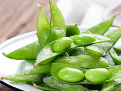 Tom's Diner's A-Z: E is for Edamame